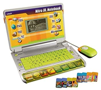 Amazon Com Vtech Nitro Junior Notebook Toys Games
