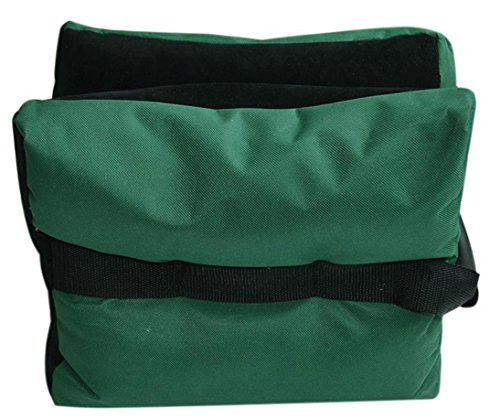 Tikteck Outdoor Shooting Rest Bag w a gun cleaning cloth- Unfilled,Green