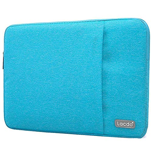 Fitting Netbook Blue - Lacdo 13 Inch Waterproof Fabric Laptop Sleeve Case Compatible Old MacBook Air 13