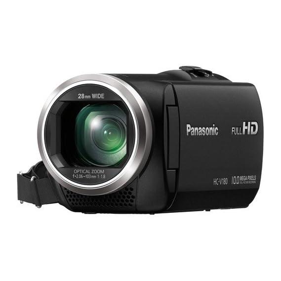 Panasonic HC-V180GW-K Consumer Camcorder (Black)