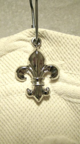 sb-170sc-fleur-de-lis-shower-curtain-hook-add-on-shiny-chrome-electroplate-finish-12pcs-free-standar