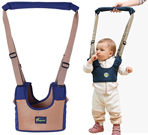 Reizbaby Safety Baby Walking Assistant,Adjustable Walk Helper Learning to Walk Harness for Toddlers,Vest Type,Dual Use