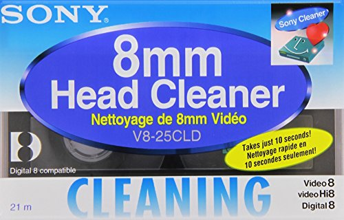 Sony V8 25CLD Digital8 Camcorder Cleaning