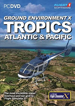 Ground Environment X: Tropics for FSX (PC DVD): Amazon co uk