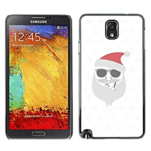 Be Good Phone Accessory // Dura Cáscara cubierta Protectora Caso Carcasa Funda de Protección para Samsung Note 3 N9000 N9002 N9005 // White Christmas Winter Holidays