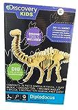 Discovery Kids Dinosaur Excavation Kit (DIPLODOCUS) Fossil Model Bones Skeleton - with Digging Tools