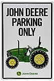 John Deere Metal Sign, Tractor Park Only