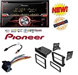 VOLKSWAGEN 2008 - 2011 GLI CAR RADIO STEREO CD PLAYER DASH INSTALL MOUNTING KIT HARNESS W/ Pioneer FH-X720BT 2-DIN CD Receiver with Mixtrax and Bluetooth