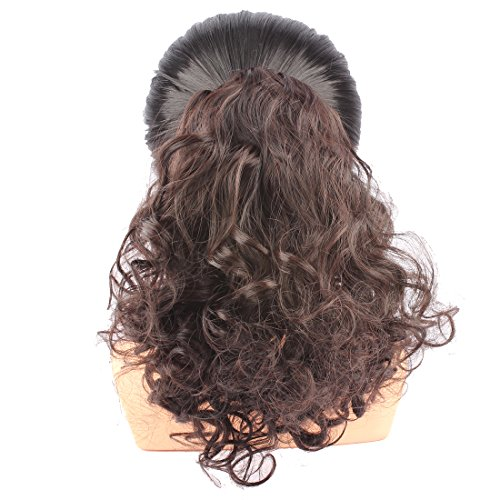 WeKen Hair Bun Medium Long Curly Synthetic Hairpiece for sale  Delivered anywhere in USA