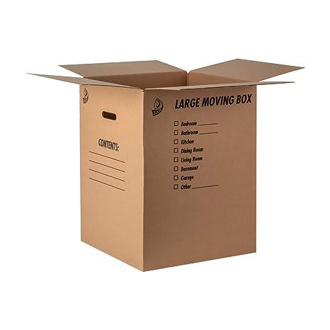 Amazon.com : Duck Brand Kraft Corrugated Shipping Boxes, 18\