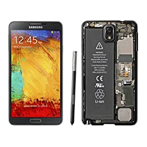 Custom and Personalized Cell Phone Case Design with Galaxy NOTE 3 N900P Internals Wallpaper