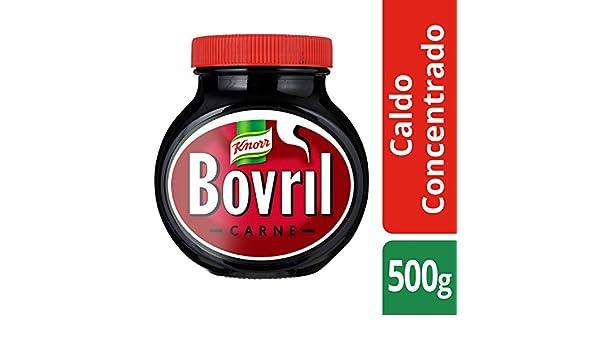 Knorr Bovril Caldo Concentrado de carne bote 500g - Lote de 6: Amazon.es: Alimentación y bebidas