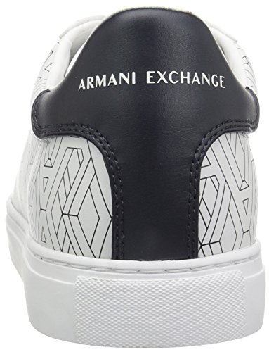 Weiß Low Armani Cut Exchange Sneaker Graphic Herren nq40Uz
