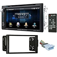 "04-05 Saturn All-Models In-Dash 6.5"" DVD/CD Player Receiver Monitor w/ Bluetooth"