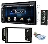 """power acoustik wiring harness - 6.5"""" DVD/CD Player Receiver Monitor w/Bluetooth For 04-05 Saturn All-Models"""