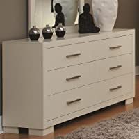 Coaster Home Furnishings Contemporary Dresser, White