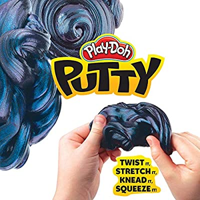Play-Doh Putty Cosmonium Galaxy Putty for Kids 3 Years & Up, 3.2 oz Tin: Toys & Games