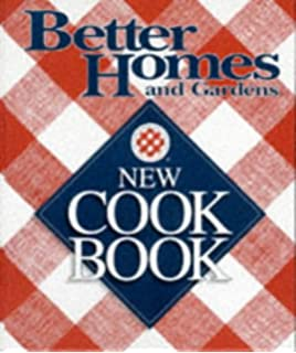 Better Homes And Gardens New Cook Book Three Ring Binder Edition