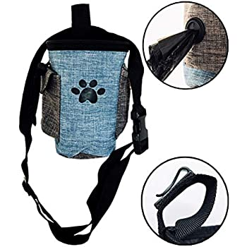 Pet Supplies : Pawaboo Dog Treat Training Pouch Bag