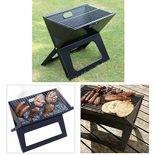 Outu Portable Camping Folding Barbecue Bbq Grill Outdoor
