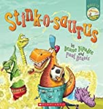 Book cover from Stink-o-saurus by Dawn McMillan