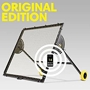 M-Station Talent Original Soccer Rebounder and Football Academy Training Professional Football Equipment for Improving Club Academy Skills World Leading Rebounder used by Real Madrid