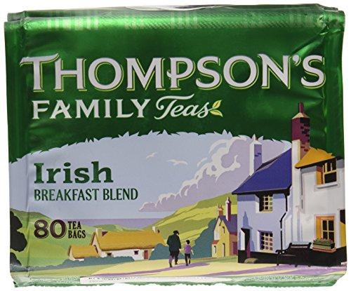 Thompson's Punjana Irish Breakfast 80 teabags (8.82oz) x 1 pack ()