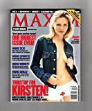 Maxim Magazine - September, 2000. Kirsten Dunst Cover. Chris Rock, Susan Ward, Garcelle Beauvais, Kristina Lum, Jill Wittenwyler, Nnenna Lynch, Ashley Tappin, Amy Acuff, Mary Sauer, Heather Olson, Dara Torres, Winning an Argument with Your GF, Montre