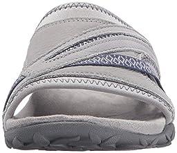 Merrell Women\'s Terran Slide II Athletic Sandal, Sleet, 9 M US