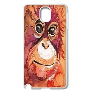 Clzpg New Fashion Samsung Galaxy Note3 N9000 Case - Orangutan diy cell phone case
