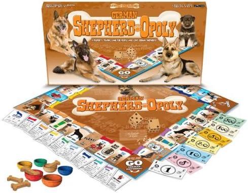Pet-Source.com Marca Berger ALLEMAND-OPOLY (Estilo de Juego Monopoly para los pastores alemanes y Sus Maestros).: Amazon.es: Productos para mascotas