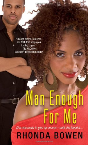 book cover of Man Enough for Me