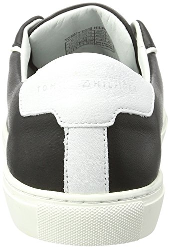 Tommy Hilfiger Herren M2285ount 4a2 Low-Top Schwarz (Black 990)