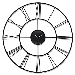 Infinity Instruments Modern Tower Clock, Black