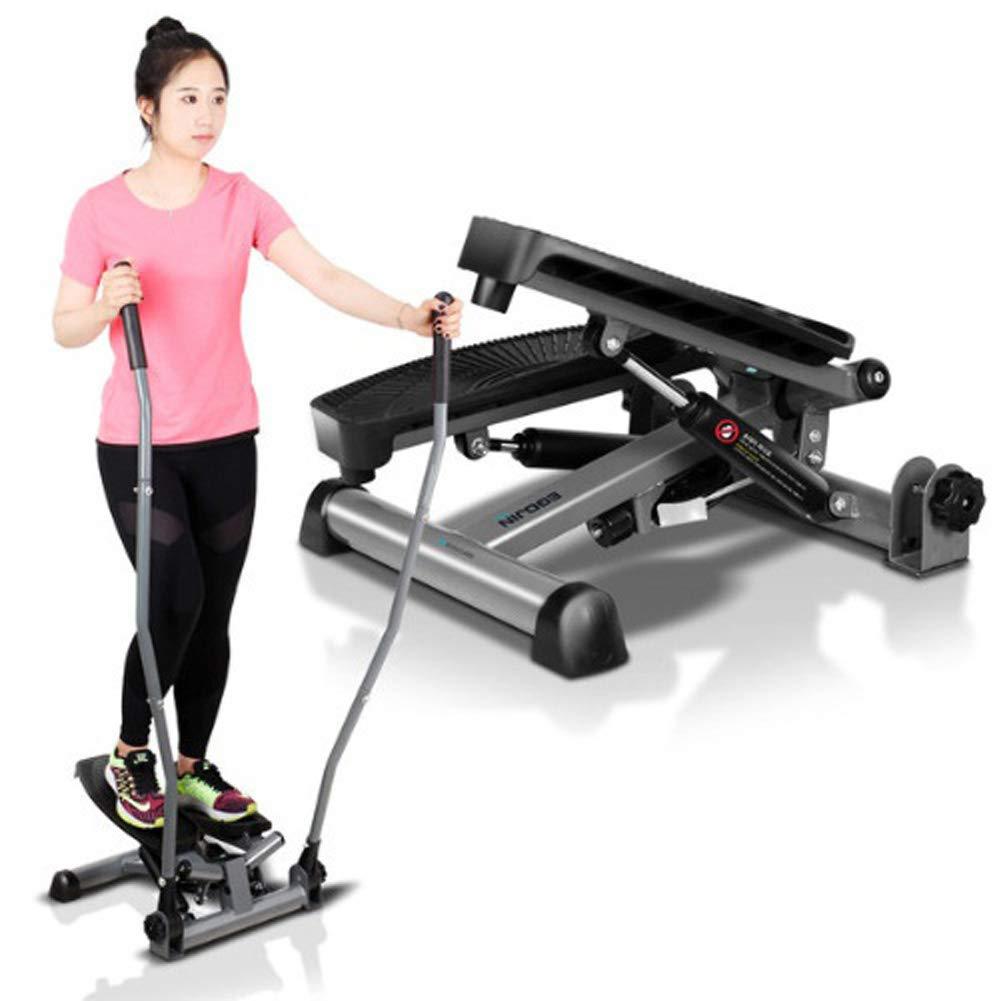 EGOJINOEM 2 in 1 Twist Stepper mit elliptischem Griff für Aerobic-Training Unten und Oben Ganze Körper muskuläre Kraft Verstärkung