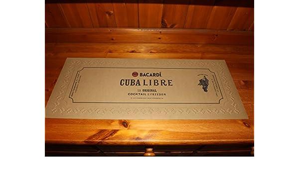 Bacardi Cuba Libre Bar (62 cm x 24 cm: Amazon.es: Hogar