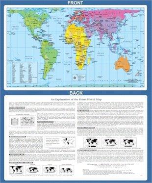 Peters Map 11x17 desktop laminated 2014
