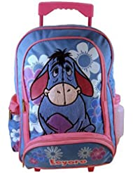 Disney Eeyore School Backpack : Full size Eeyore Rolling Luggage