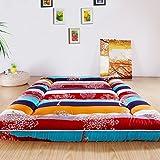 Extra thick mattress/tatami mattress/foldable mattress/student dormitory mattresses/single mat is-H 150200cm(59x79inch)