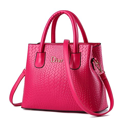 andee-womens-fashionable-elegance-texture-leather-large-shoulder-bags-handbagrosered