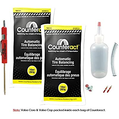 Counteract DIYSK-10 Tire Balancing Beads 11R22.5-24.5 Steer Kit - 10oz DIY Kit (20oz): Automotive
