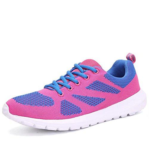 Lieve-koningin Lichtgewicht Mode Sneakers Casual Sportschoenen Voor Damesroze
