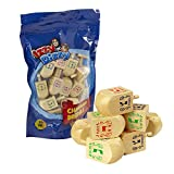 30 Medium Wood Dreidels - Classic Chanukah Spinning Draidel Game, Gift and Prize - Bulk Value Pack - By Izzy n Dizzy