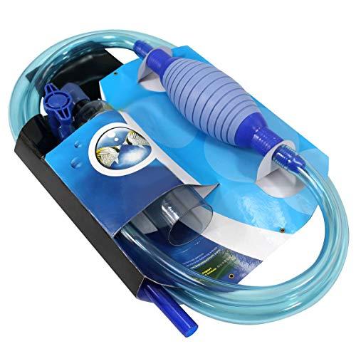 Songway Aquarium Gravel Cleaner/Gravel Vacuum for Aquarium Fish Tank/Aquarium Siphon with Filter, Airbag and Water Flow…