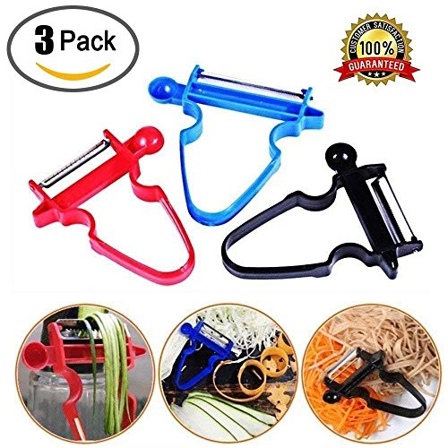LETIN New Magic Trio Peelers For Vegetable Fruit With The Amazing 3pc Peeler Set