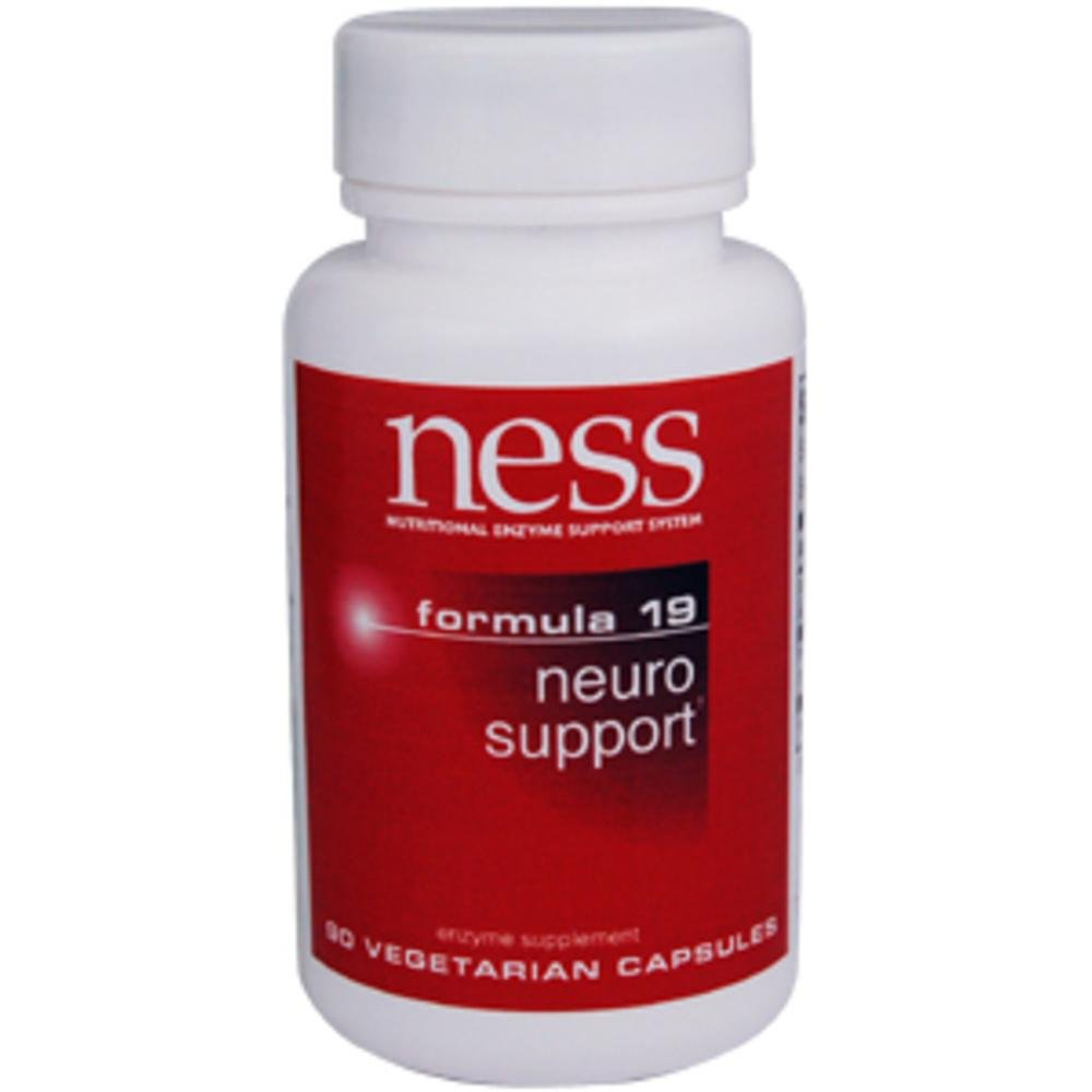 Ness Enzymes - Neuro Support #19 90 caps [Health and Beauty]