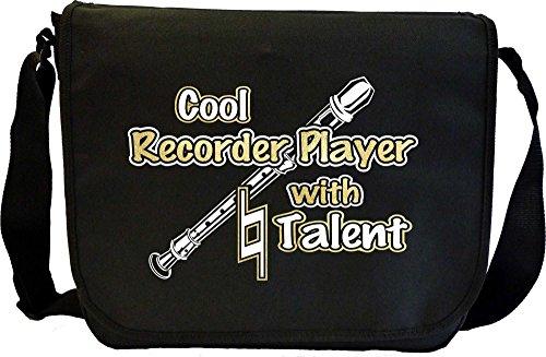 Recorder Cool Natural Talent - Musik Noten Tasche Sheet Music Document Bag MusicaliTee