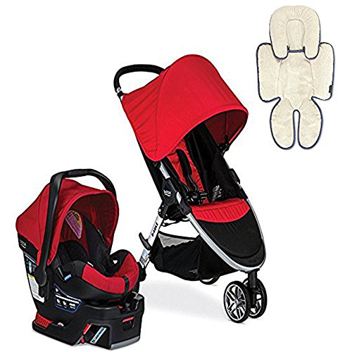 Britax 2017 B-Agile/B-Safe 35 Travel System & Support