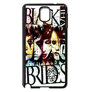 Custom High Quality WUCHAOGUI Phone case BVB - Black Veil Brides Music Band Protective Case For Samsung Galaxy NOTE4 Case Cover - Case-13
