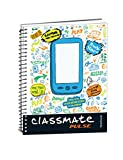 Classmate Pulse Selfie Single Line 6-Subject Notebook - 267mm x 203mm, 60GSM, 300 Pages